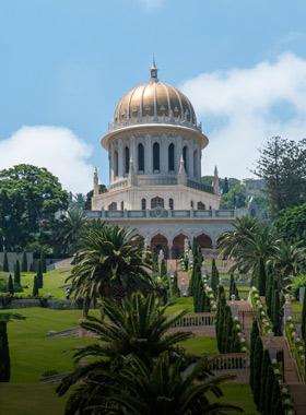 The Baha'i gardens